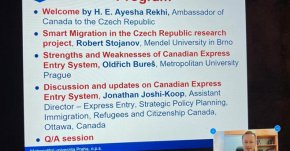 Canadian Express Entry System and Research Project Smart Migration in the Czech Republic