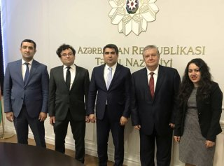 Metropolitan University Prague on the Business Mission to Azerbaijan